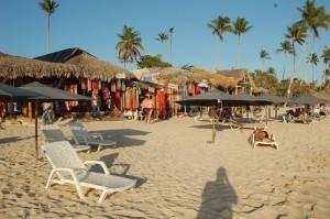 Spiaggia di Bayahibe e negozietti