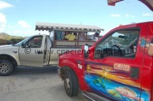 Safari taxi bus collettivo