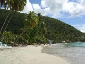 Tortola Spiaggia Cane Garden Bay Beach