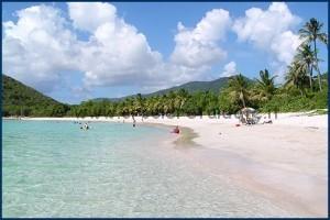 Tortola spiaggia Smuggler's Cove Beach
