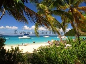 Tortola Spiaggia Jost van dyke beach