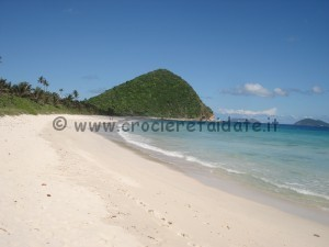 Tortola spiaggia di Long Bay Beach